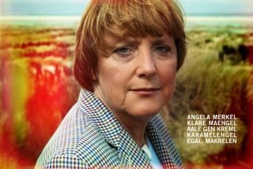 Angela Merkel auf Borkum